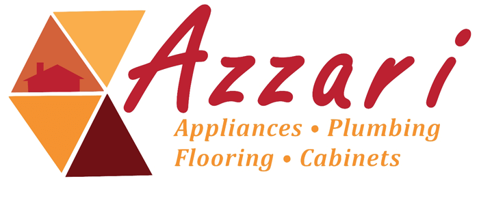 Azzari Appliances . Plumbing . Flooring . Cabinets Logo